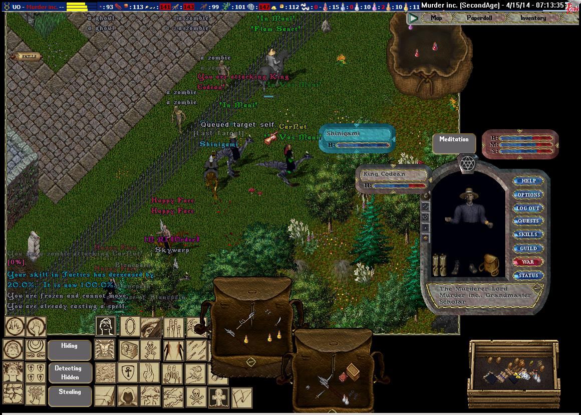 Pic Of the Day for Tuesday, September 23, 2014! all friend that play a game. server war screen shot